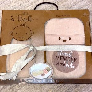 Adorable Newborn Prop Set